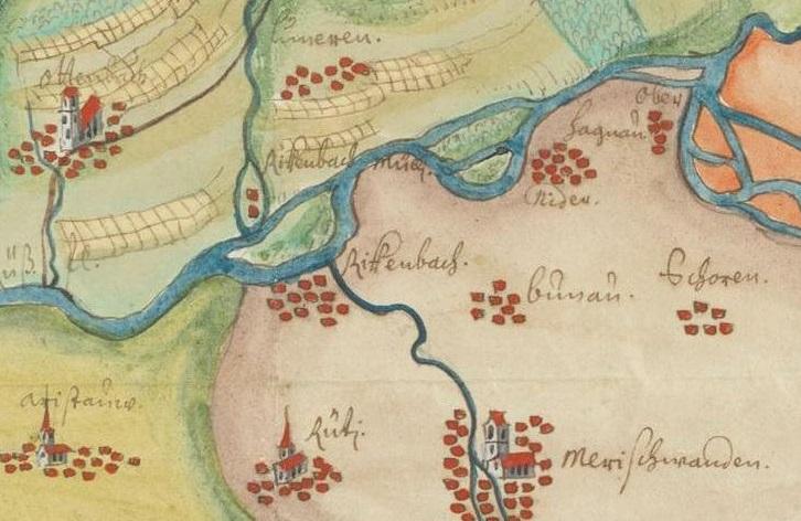 Manuscript map