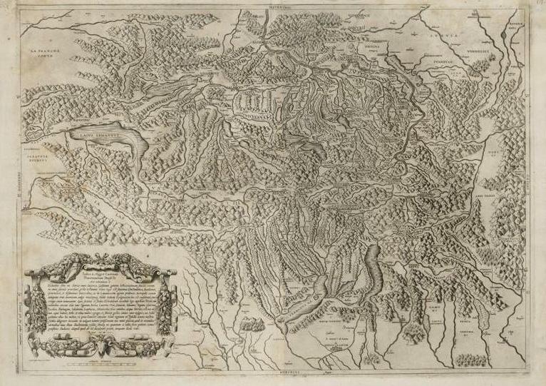 Salamanca-Karte der Schweiz