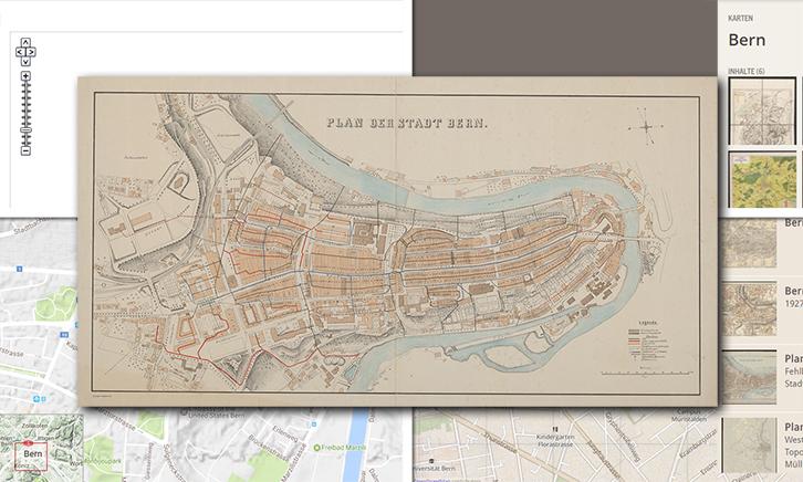Entdecken, zoomen, navigieren -Historische Karten digital präsentiert