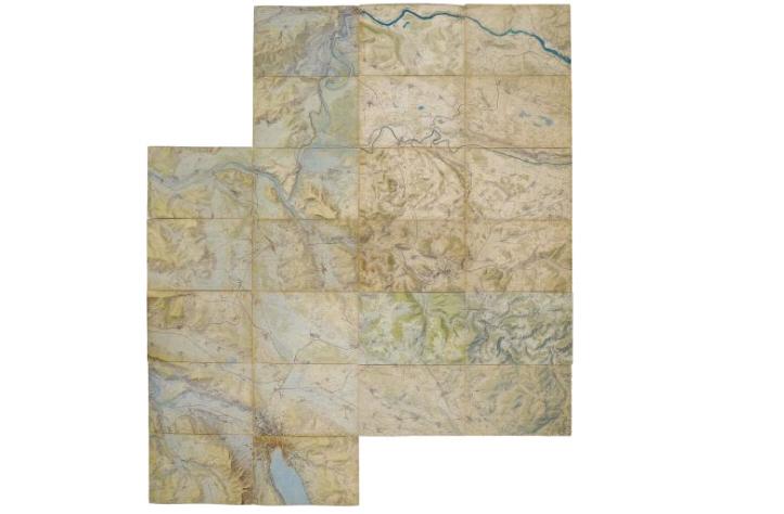 Andreas Hefti: Kriegsspielkarte (1896) und Kriegsschauplatz Südafrika (1900)
