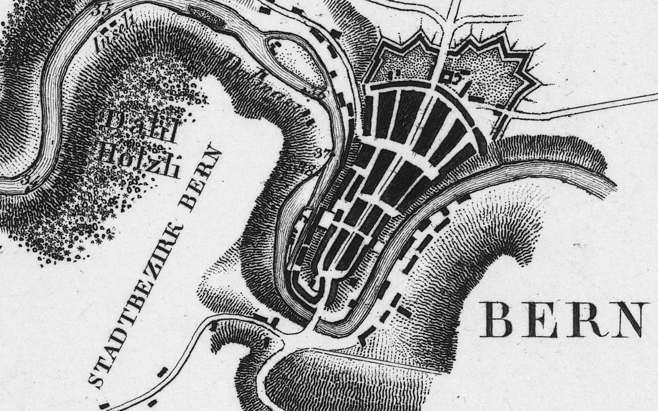 Wissen woher, um zu wissen wohin - Wege auf Karten der swisstopo entdecken
