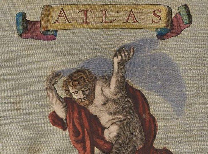 Mächtig prächtig.  Karten aus dem Danckerts Atlas