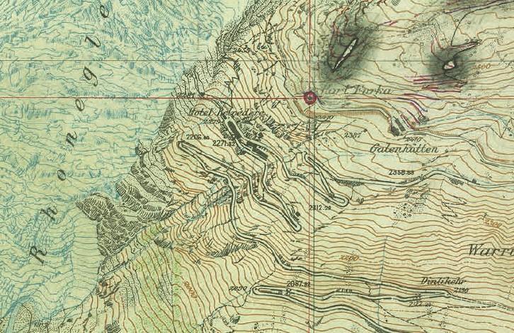 Festungskarten: Geheime schweizerische Militärkarten 1888–1952