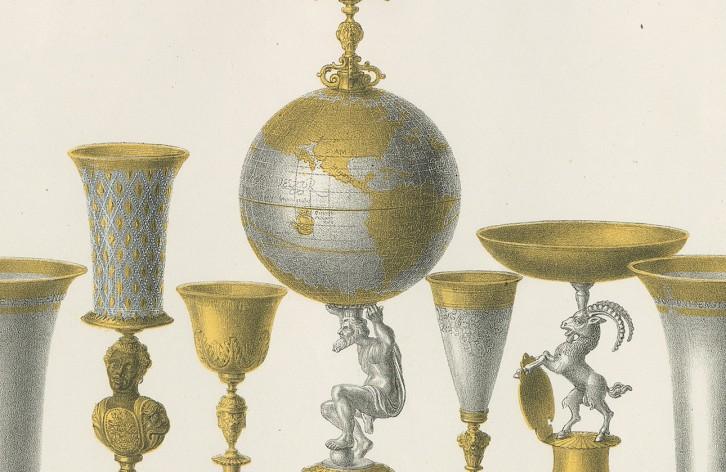 Globuspokal von Abraham Gessner