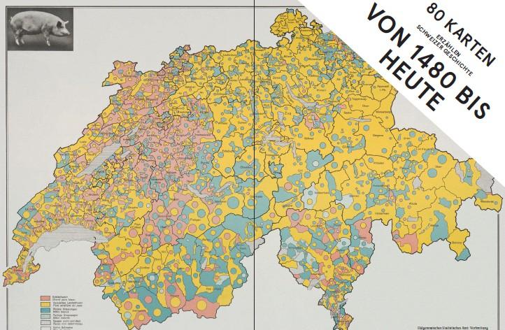 Mit 80 Karten durch die Schweiz: Buchvernissage