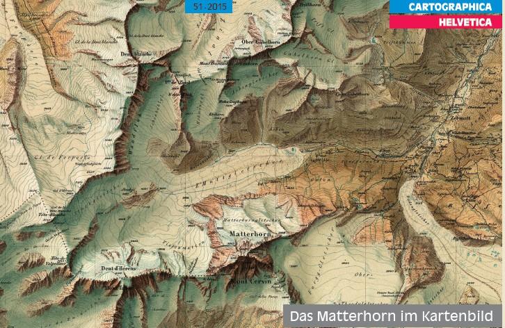 Publikation zur Kartierung des Matterhorns